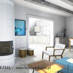 Piec kaflowy Kominki KAMA 29-Kartka 2
