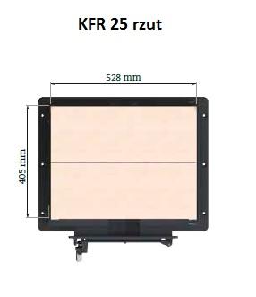 KFR 25 rzut