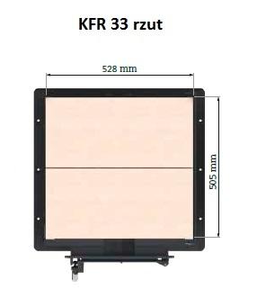 KFR 33 rzut